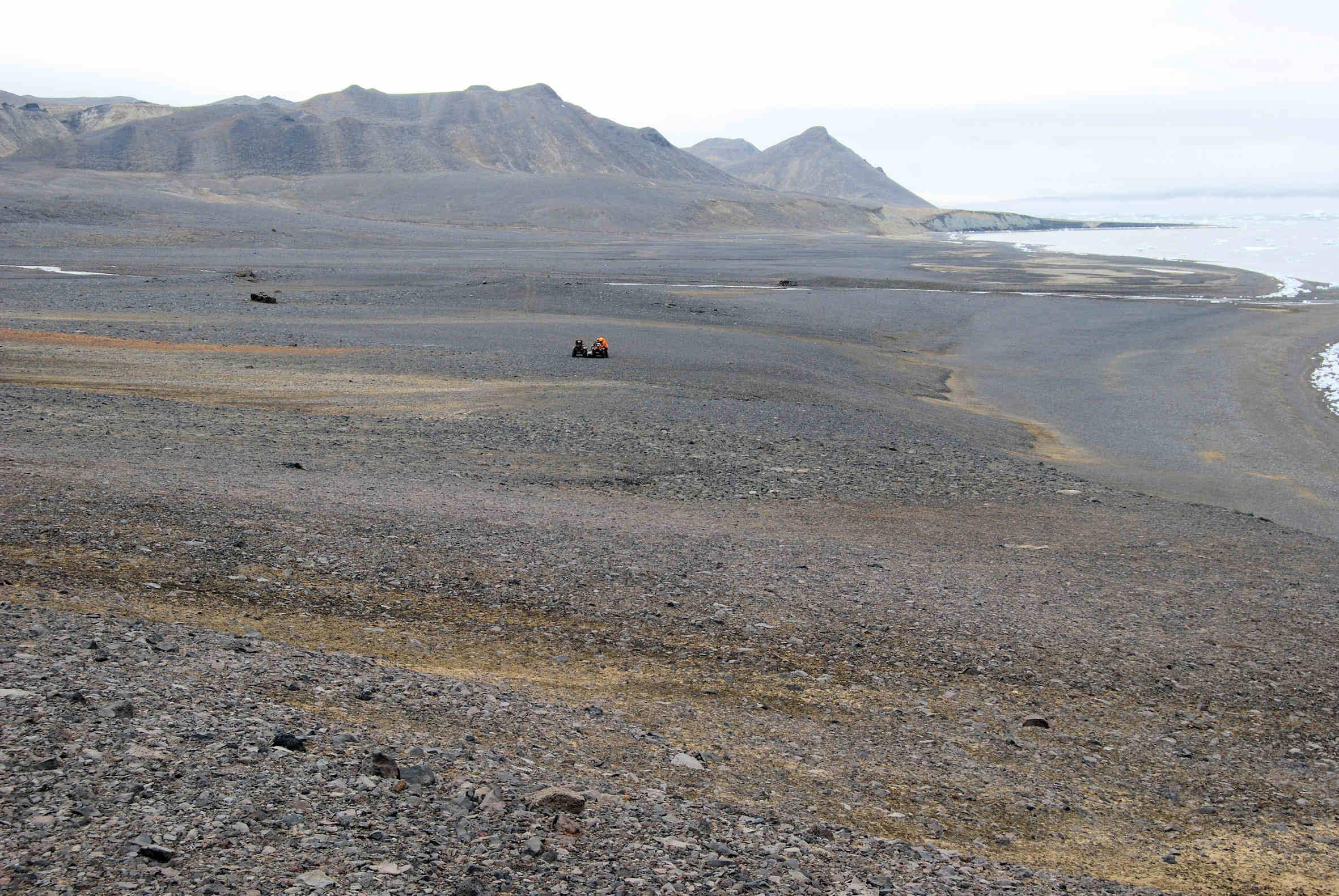 Periglaciatial environments for Terrace landform