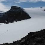Unnamed Glacier, Ulu Peninsula, James Ross Island. Small valley glacier.