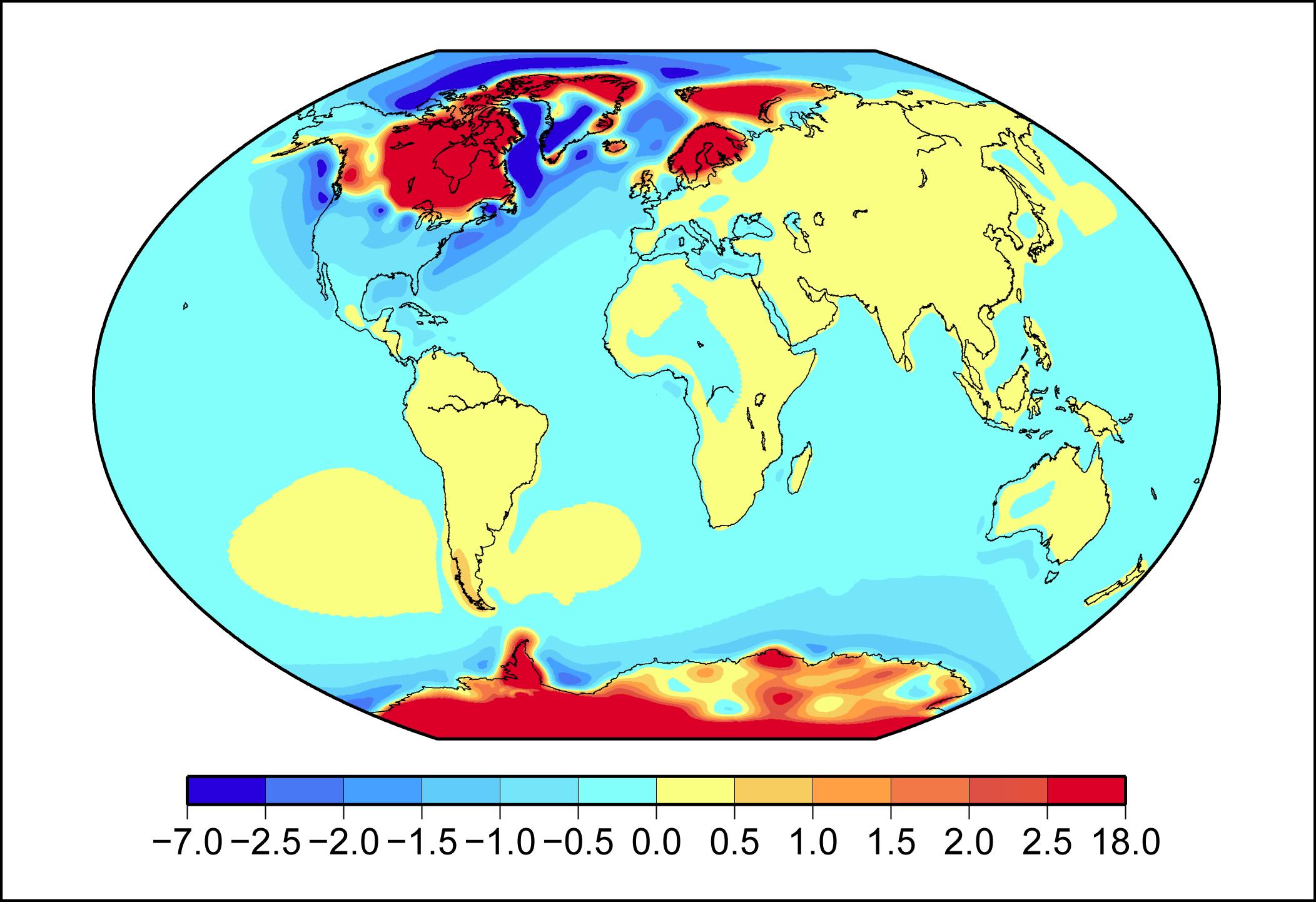 Postglacial rebound