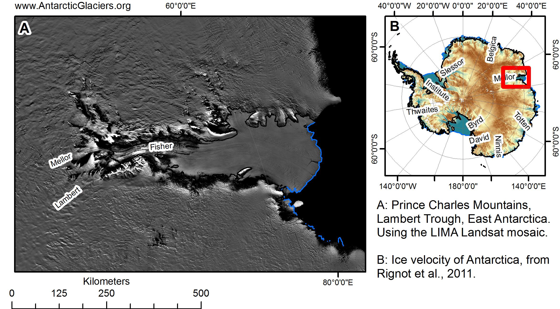 East Antarctic Ice Sheet Antarcticglaciers Org