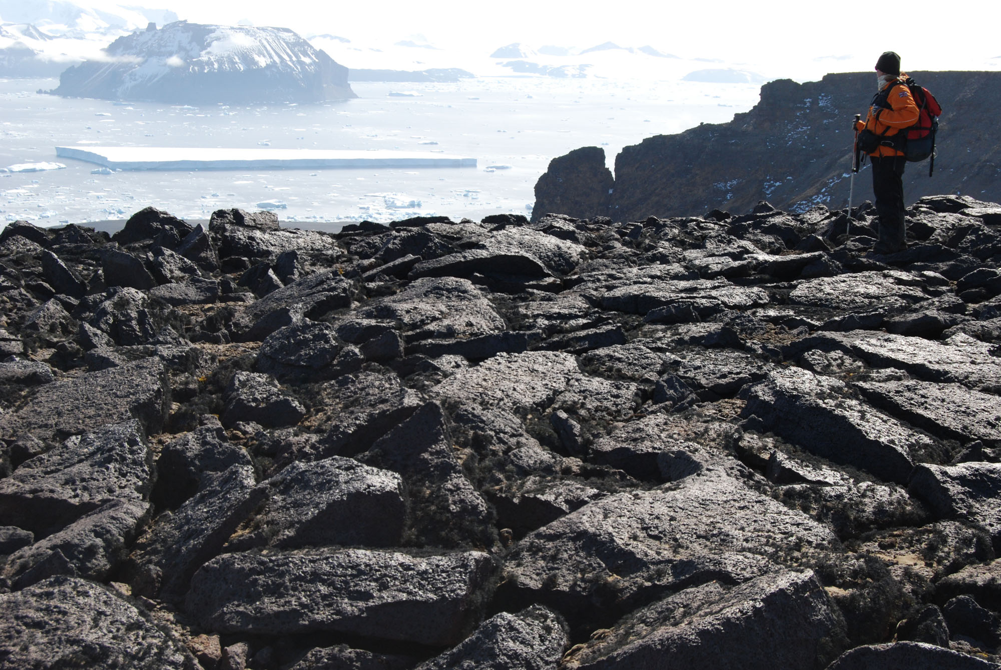 Glacial landsystems on james ross island for Terrace landform