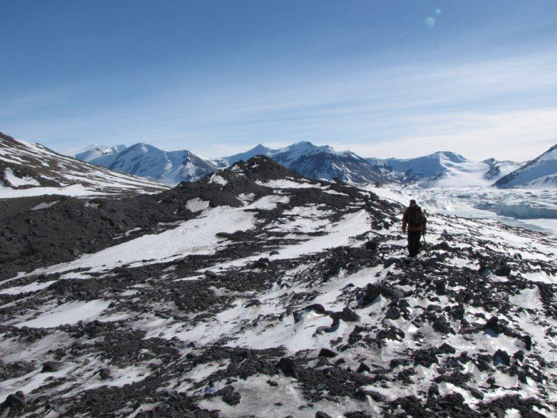 Cosmogenic dating glaciers ice 10